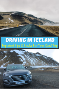 Are you planning a road trip around Iceland in winter? These tips & tricks are everything you need to know when driving in Iceland in winter. If you're thinking of renting a car during your trip to Iceland, here are some important things you need to think about before you go. From driving on icy roads, to parking and locating gas stations - this is the ultimate guide for your road trip in Iceland during winters.