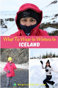 What you will need (and not need) to pack for Iceland in winter. #iceland #visiticeland #packingguide #winteroutfit | what to wear in iceland for women | Iceland packing list for women | Female packing list for Iceland | Iceland itinerary | Iceland travel winter | Iceland travel guide | Iceland road trip | Iceland winter itinerary | what to pack for an iceland adventure | travel tips for iceland | Iceland packing list | what tp pack for a week in iceland | #icelandtravel