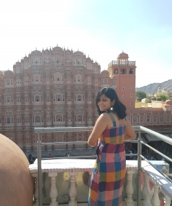 View of Hawa Mahal from the Tattoo cafe, Jaipur weekend itinerary