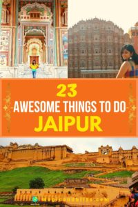 Plan your weekend itinerary with these 23 awesome things to do in Jaipur India. Explore Rajasthan Culture in the streets of the Pink City in India. Check out the blog for complete travel guide to Jaipur. Things to do, places to visit, things to eat, go shopping for Rajasthani art and jewellery, the best spots for your instagram shots and much more. Plan your trip to Jaipur soon. | Rajasthan Tourism | India Travel | Off The Beaten Track | #rajasthan #jaipur #india