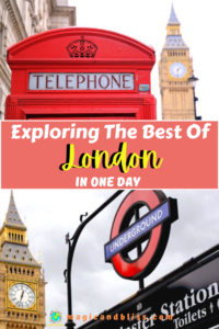 How to Explore London in 1 Day. Do you have only one day in London and not sure what to do? Discover how to spend one day in London with this ultimate London 1-day itinerary! #london #londontraveltips #london1dayitinerary #unitedkingdom #europe
