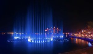 palm fountain - best things to do in Dubai