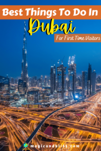 10 Best Things to do in Dubai You Absolutely Can't Miss. This is the best Dubai Travel Guide for first time visitors. Don't miss these 10 experiences for the best the city has to offer. You will fall in love with Dubai! | Dubai Travel Guide | What to do in Dubai | best things to do in Dubai | Dubai Itinerary | Dubai Bucket List |